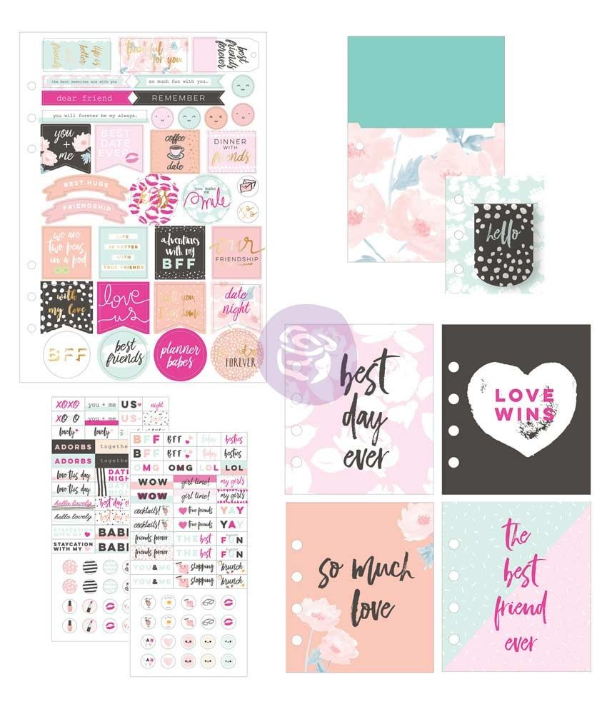 Prima Marketing My Prima Planner Goodie Pack- Friendship and love