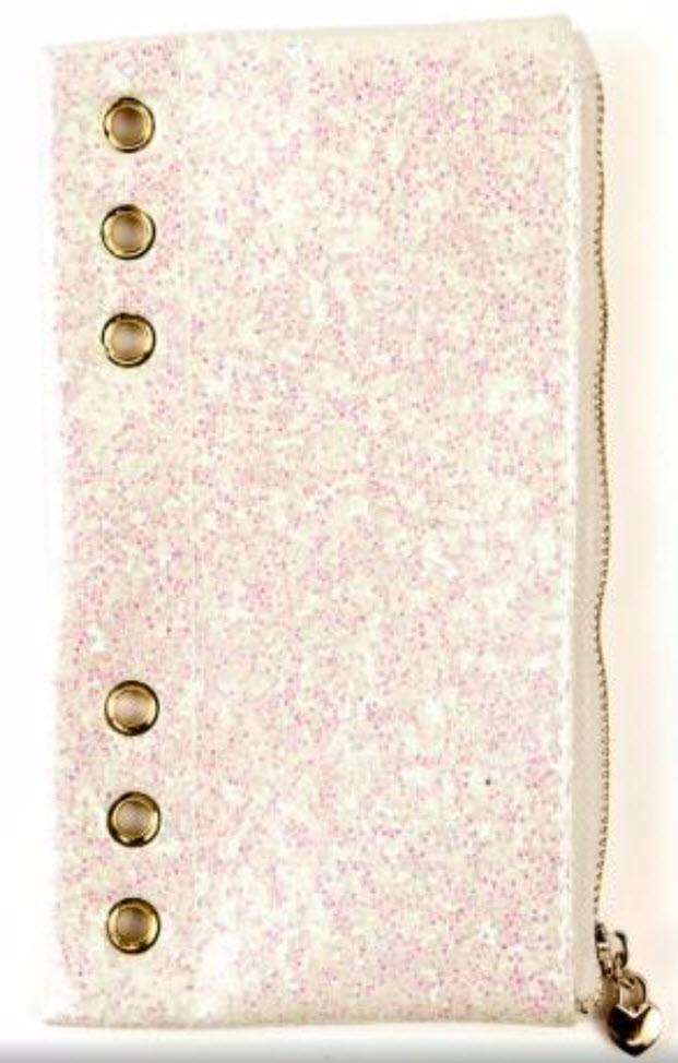 Prima Marketing My Prima Planner Pencil Pouch - White Glitter