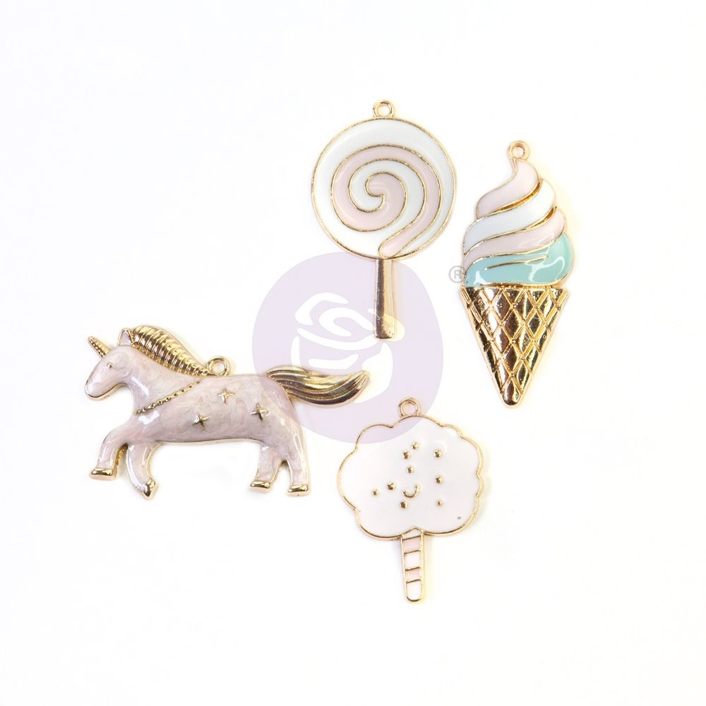 Prima Marketing Dulce Collection Enamel Charms