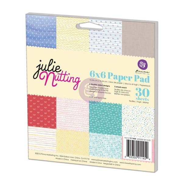 Prima Marketing Julie Nutting 6x6 Paperpad