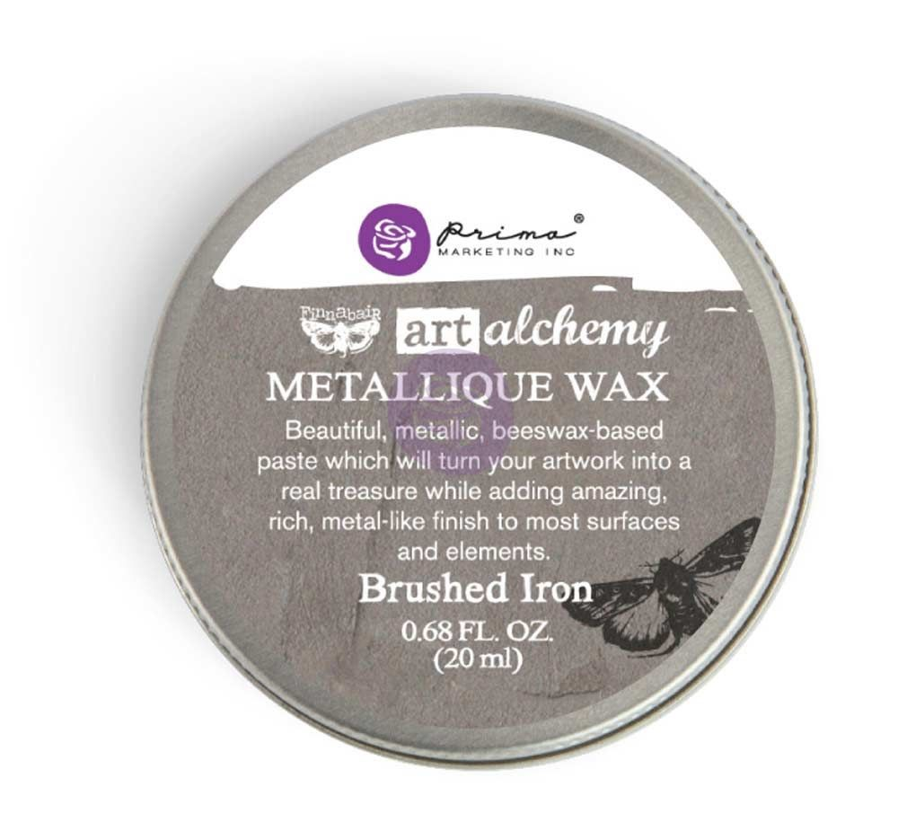 Prima Marketing Art Alchemy-Metallique Wax-Brushed Iron