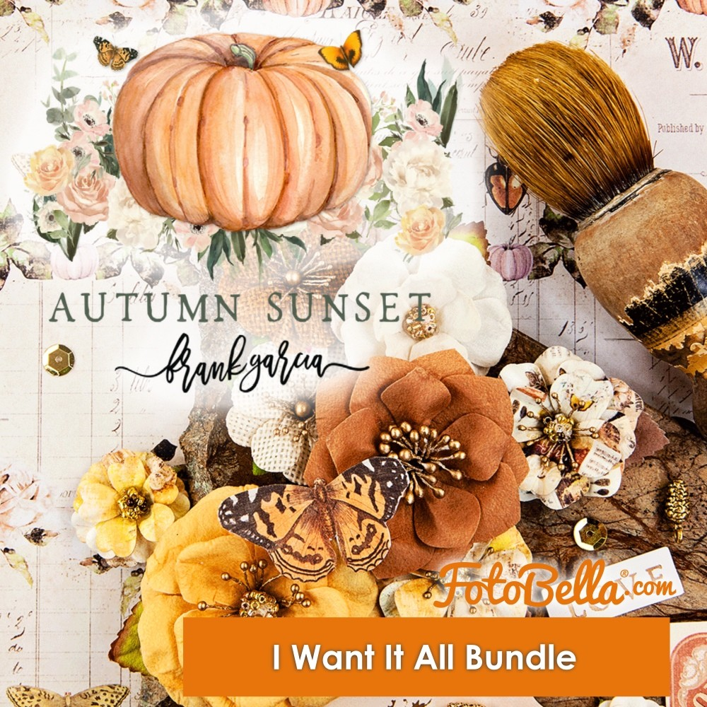 Prima Marketing Autumn Sunset I Want It ALL! Bundle