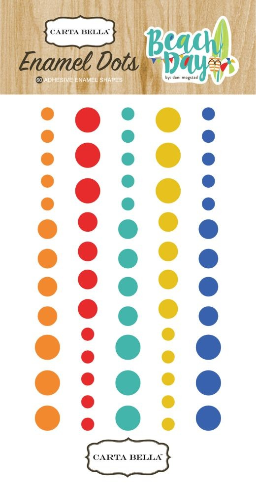 Carta Bella Beach Day Enamel Dots