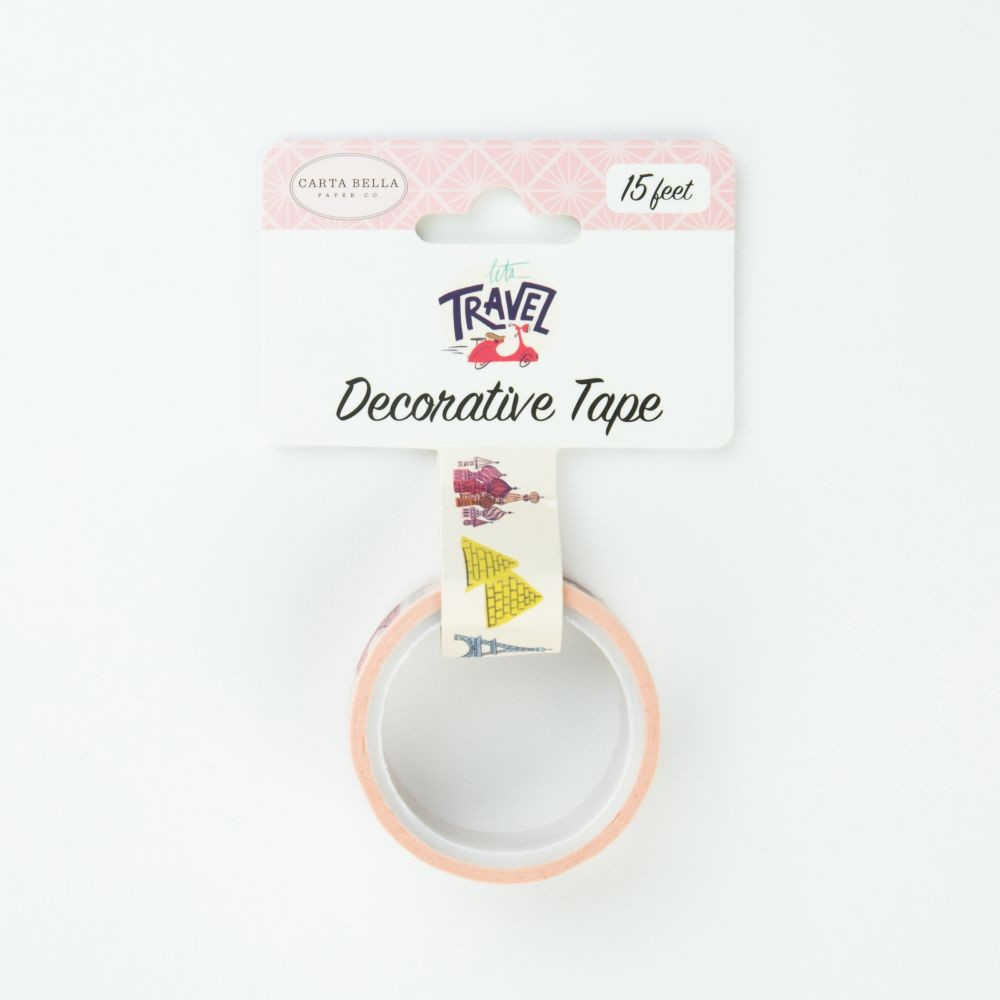 Carta Bella Decorative Tape -Travel Destinations