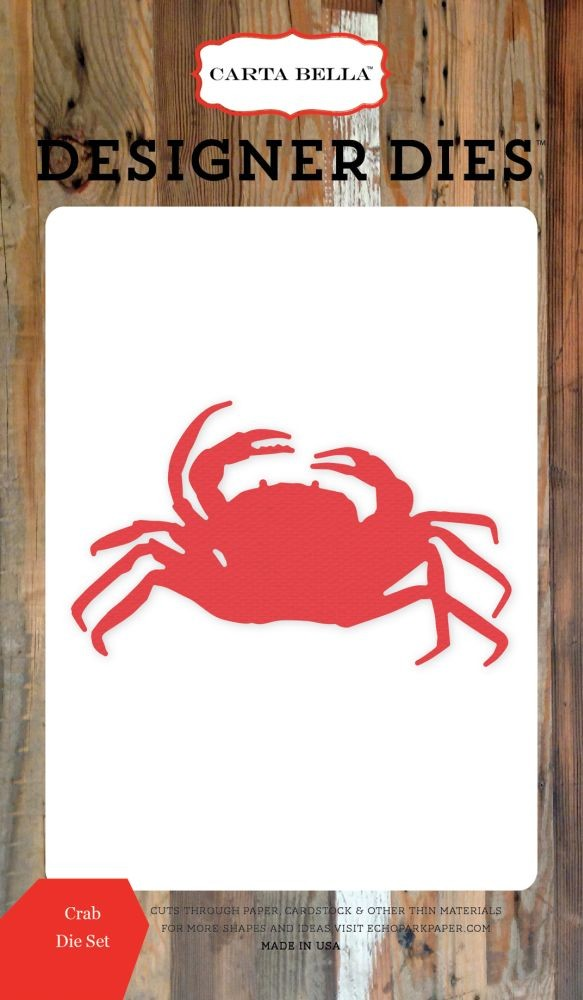 Carta Bella Crab Die Set