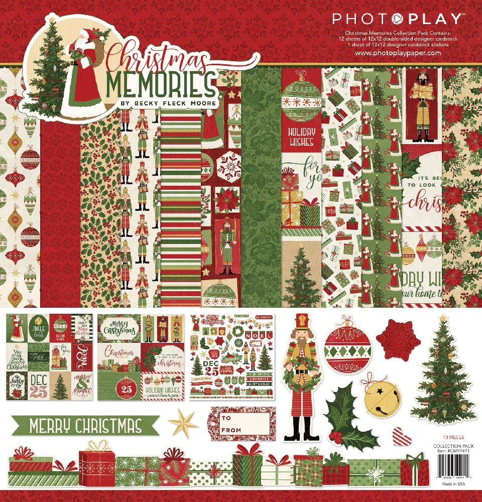 PhotoPlay Christmas Memories Collection Pack
