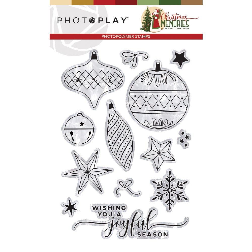 PhotoPlay Christmas Memories Stamps Elements
