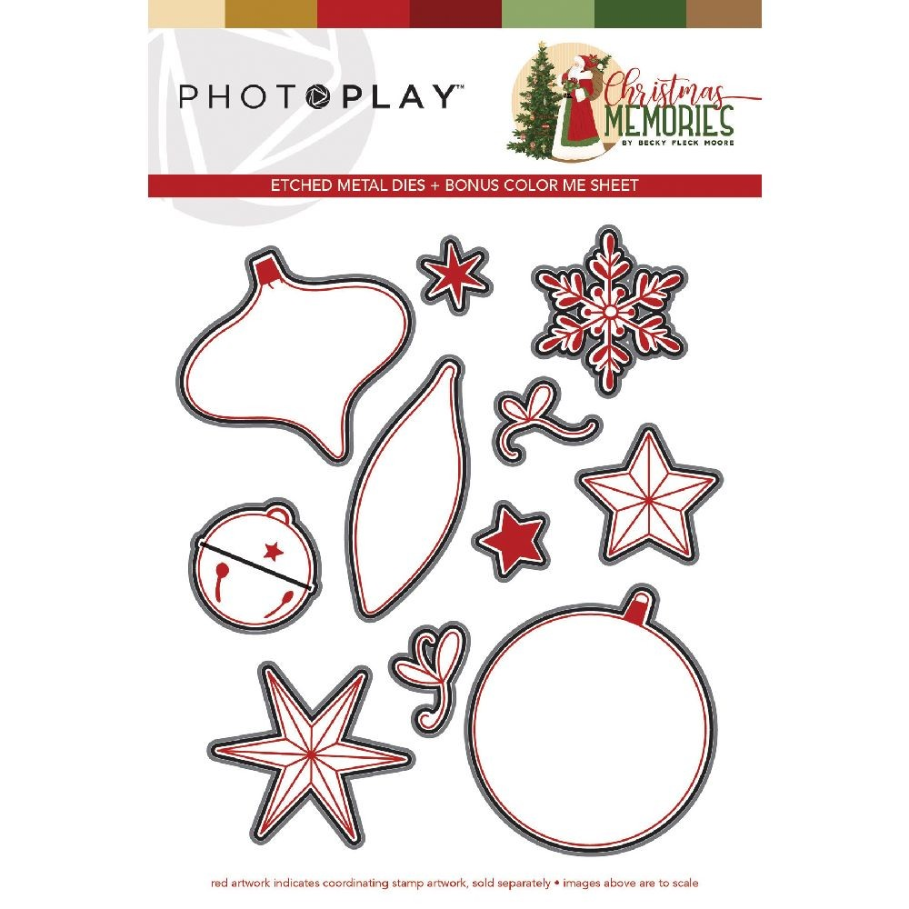 PhotoPlay Christmas Memories Dies Elements