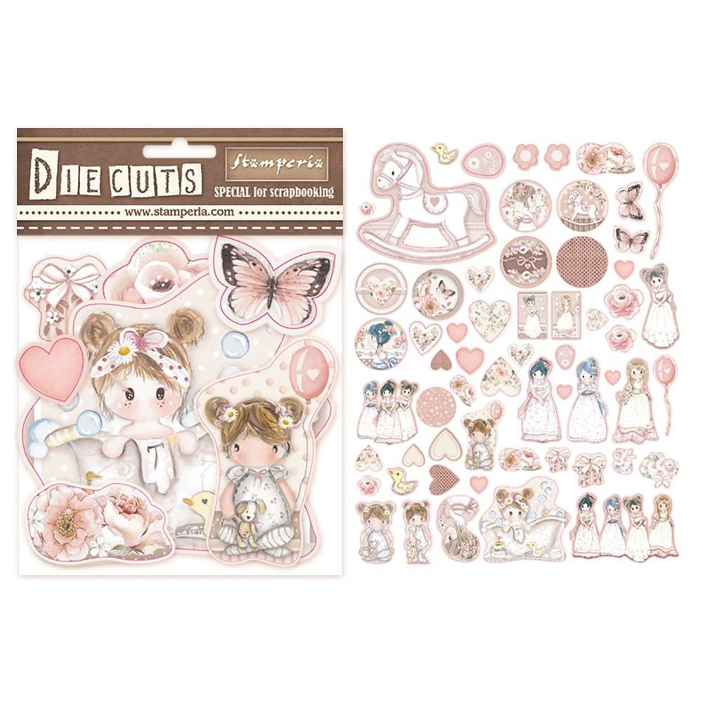 Stamperia Die cuts assorted - Little Girl