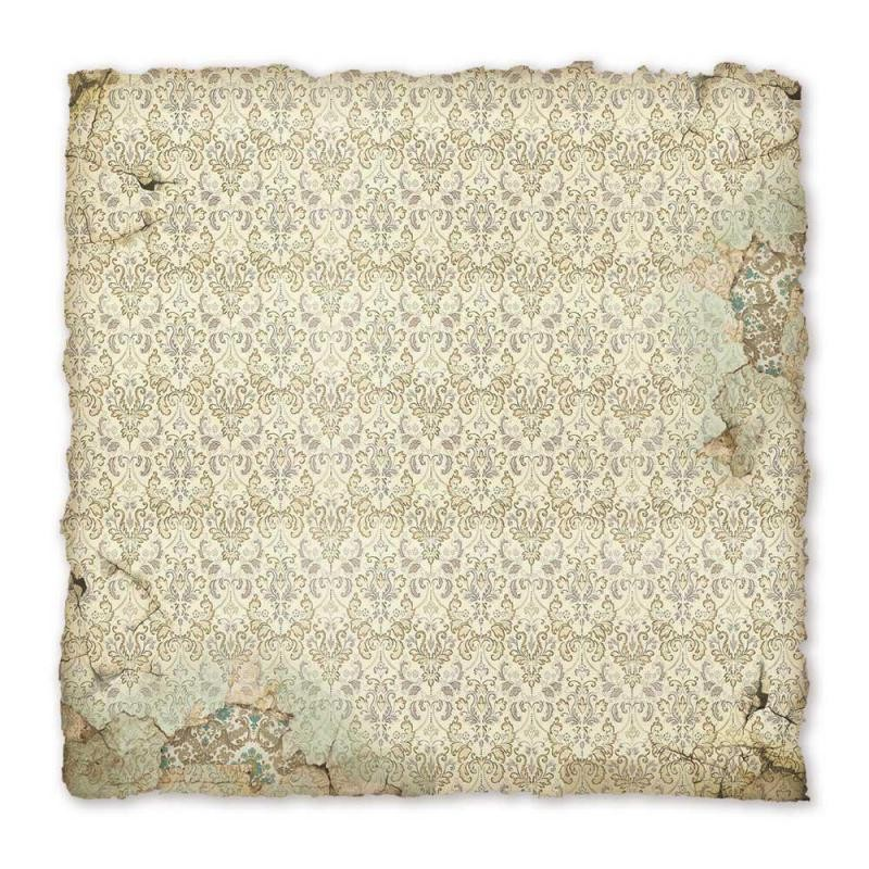 Stamperia Handmade Paper Printed sheet cm. 30x30 Ancient wall paper