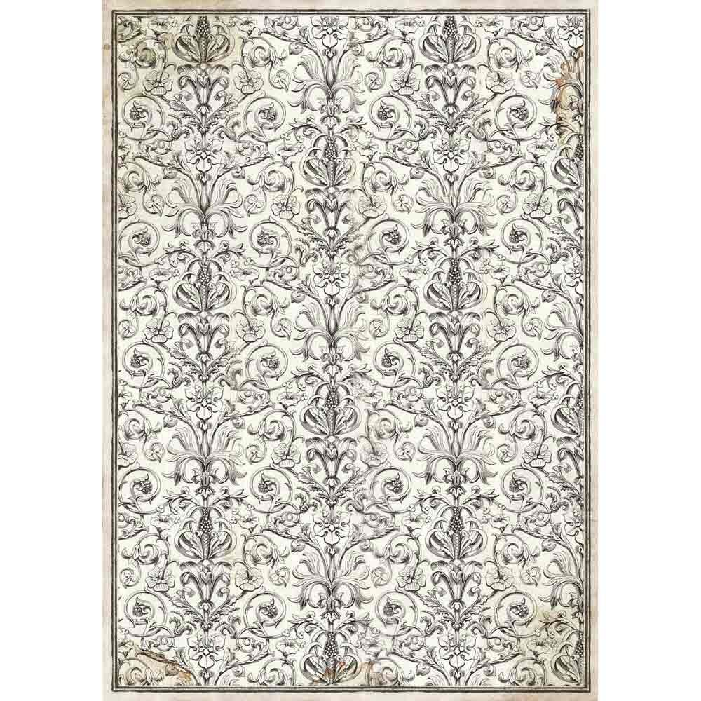 Stamperia A3 Decoupage Rice Paper packed Arabesque