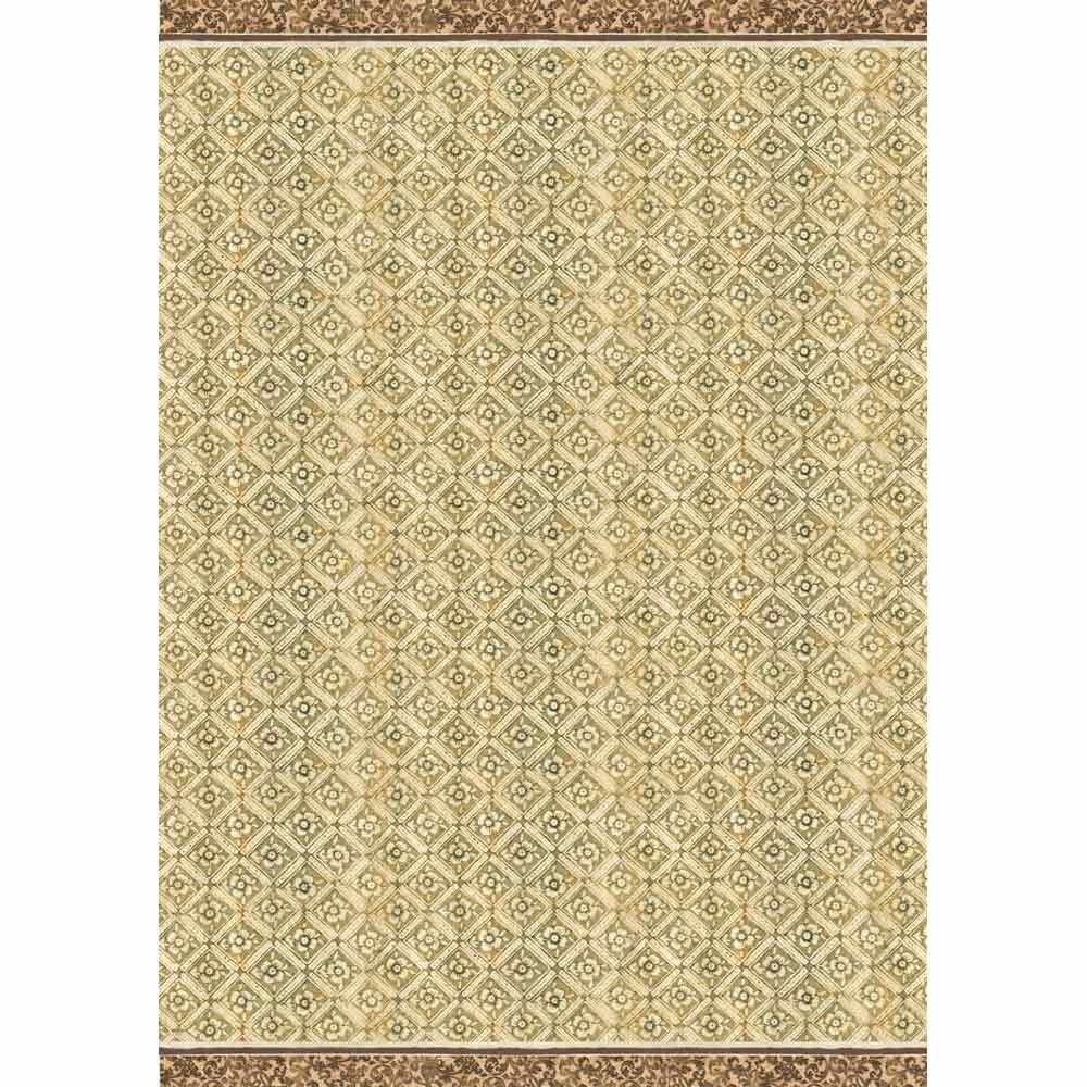Stamperia A3 Decoupage Rice Paper packed Texture ocher background