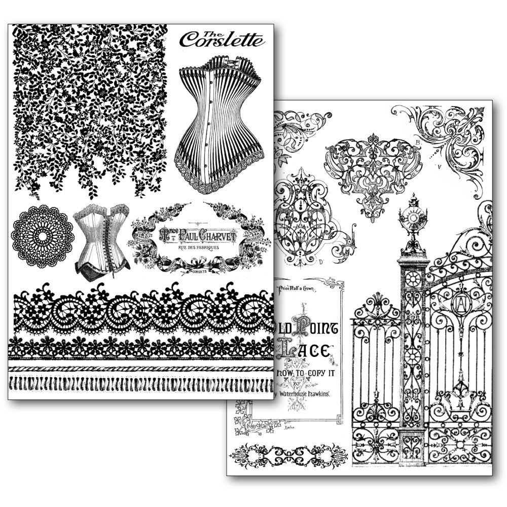 Stamperia Transfer Paper - Old Lace (2 sheets A4)