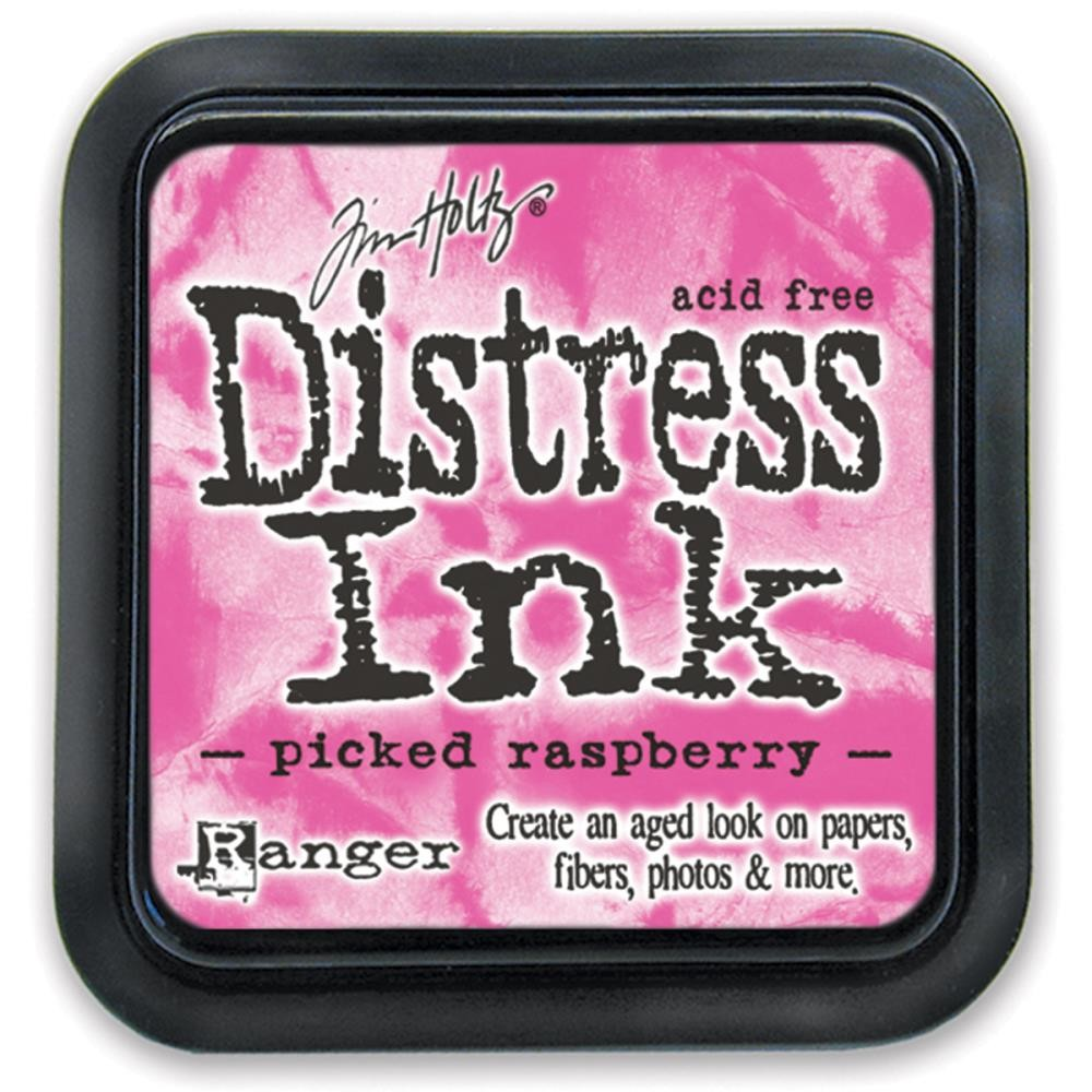Picked Raspberry - Tim Holtz Distress Ink Pad by Ranger