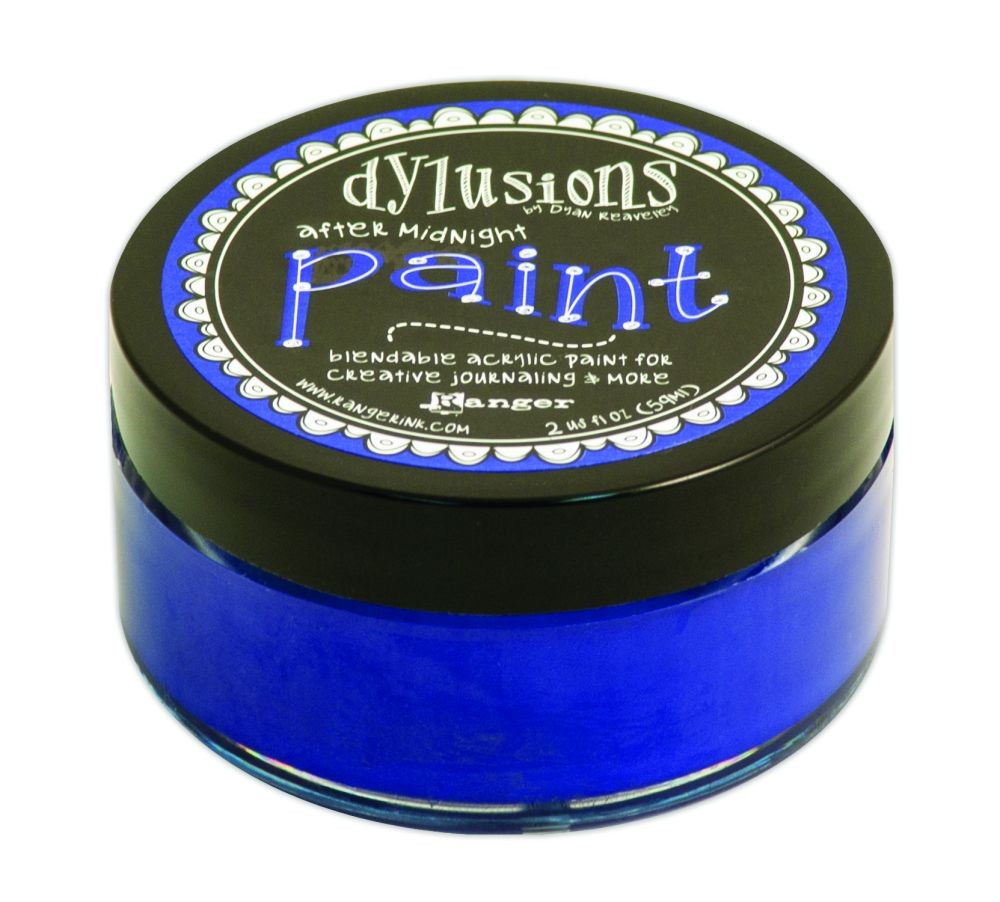 Ranger Dyan Reaveley''s Dylusions Paint 2oz - After Midnight