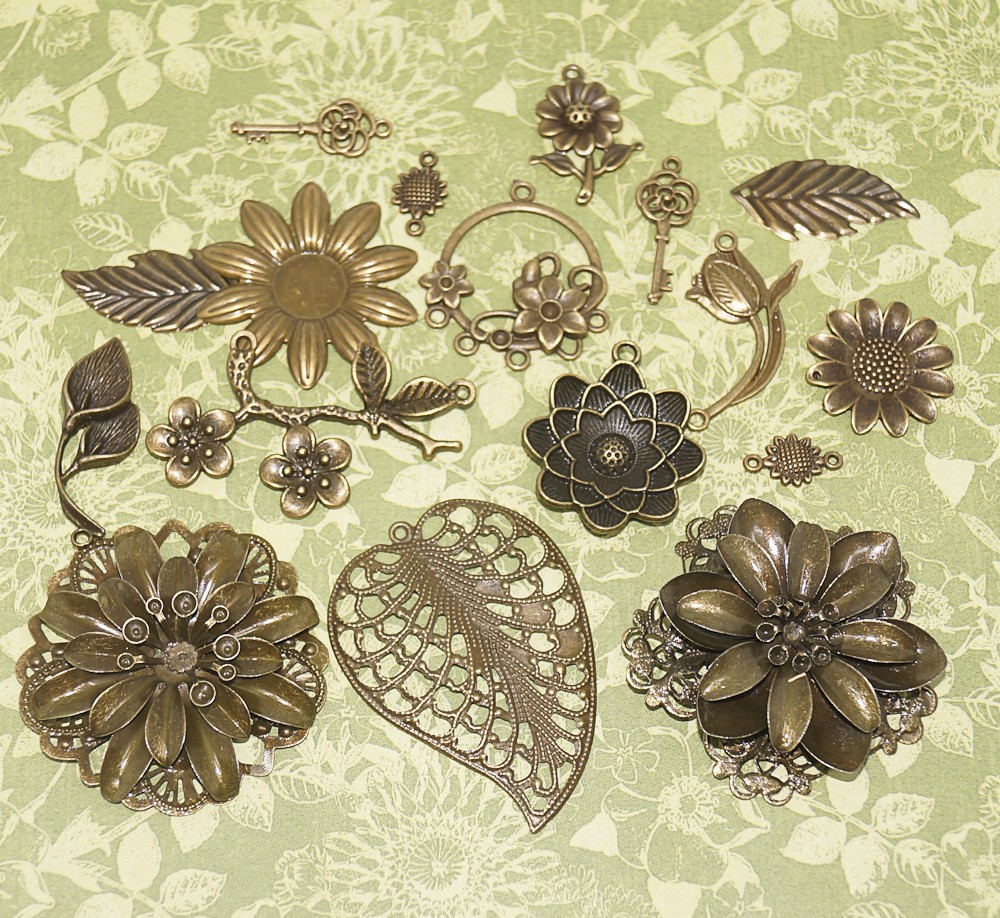 Vintage Charms hand selected by FotoBella for Graphic 45 Garden Goddess