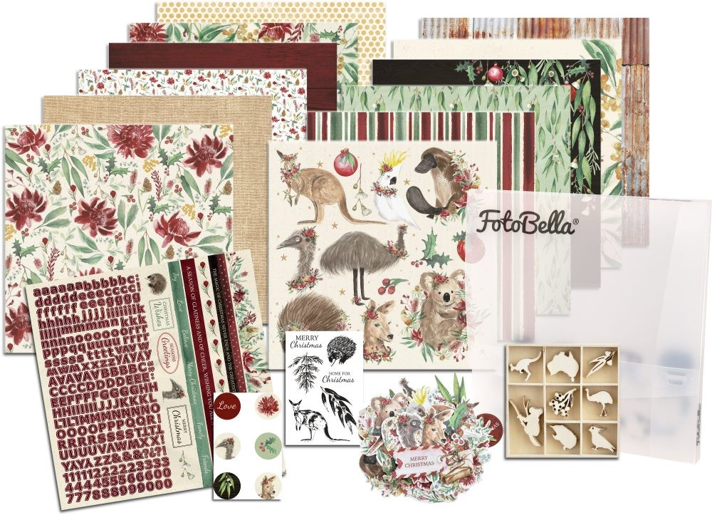 KaiserCraft Under the Gum Leaves Scrapbooking Bundle
