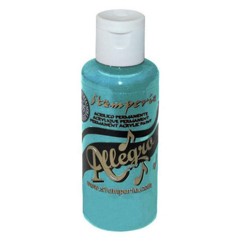 Stamperia 061 Allegro paint 59 ml Indian Turquoise