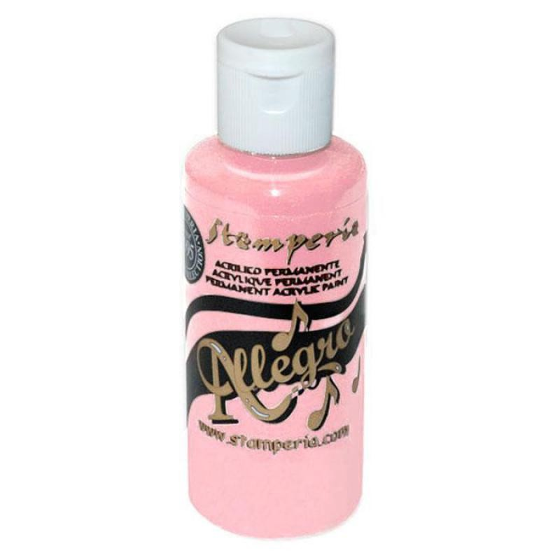 Stamperia 018 Allegro paint 59 ml Pastel Pink