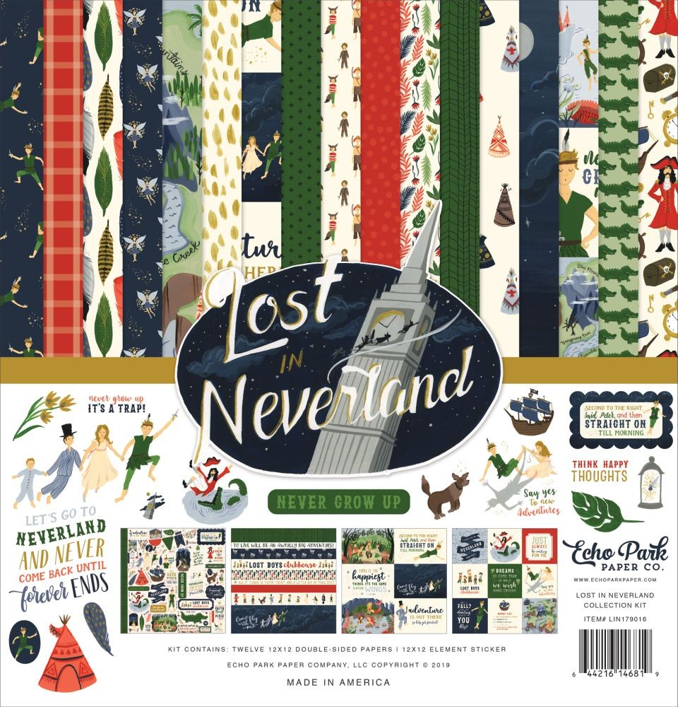 Echo Park Lost in Neverland Collection Kit