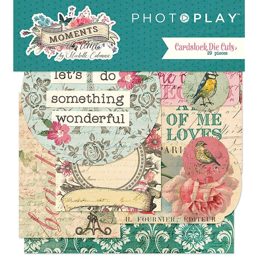 PhotoPlay Moments in Time Die-Cut Pack