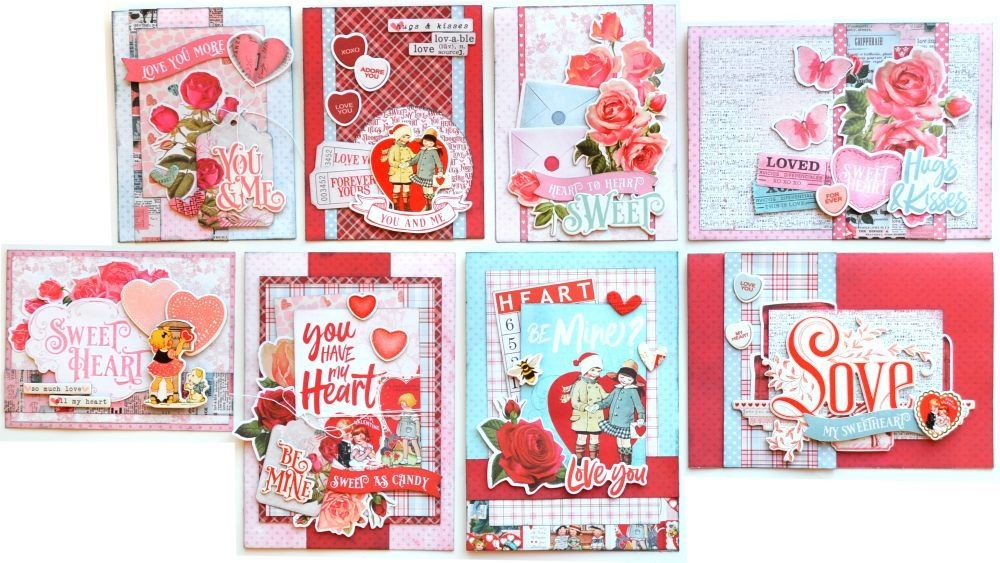 Simple Stories Simple Vintage My Valentine Card Kit