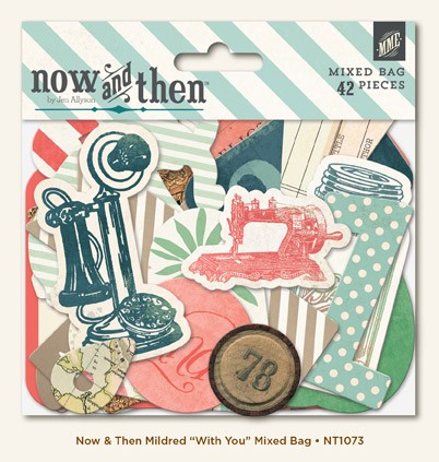 My Minds Eye Now & Then - Mildred - With You Mixed Bag