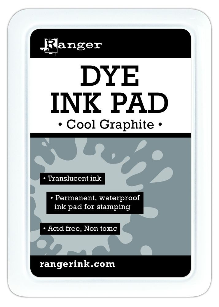 Ranger Dye Ink Pads - Cool Graphite