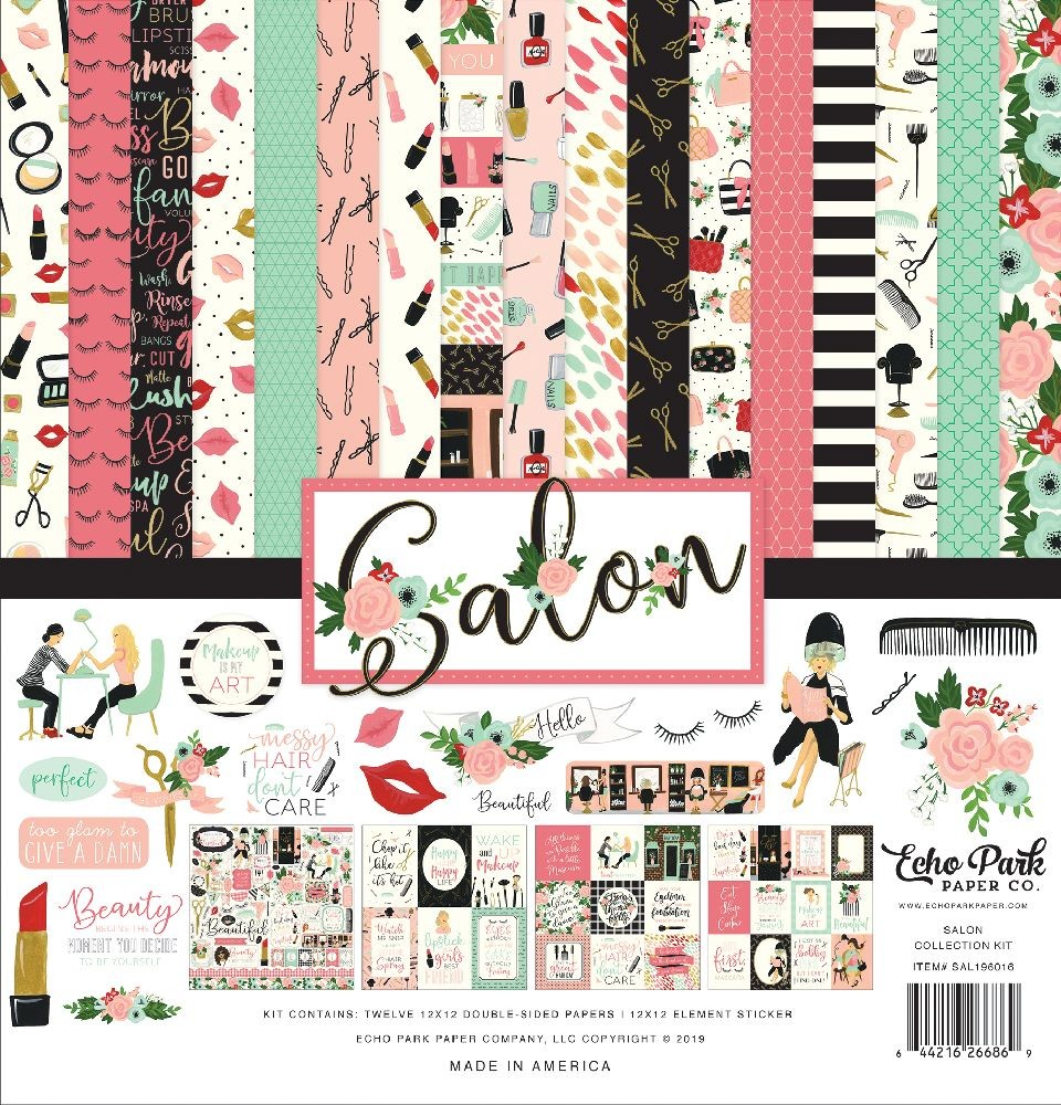 Echo Park Paper Salon Collection Kit