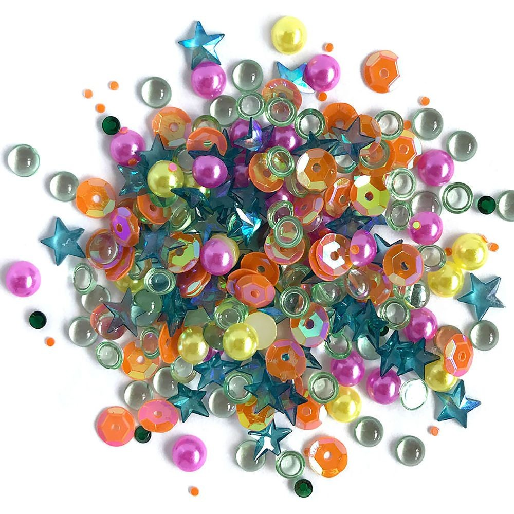 Buttons Galore & More Sparkletz - Rainbow