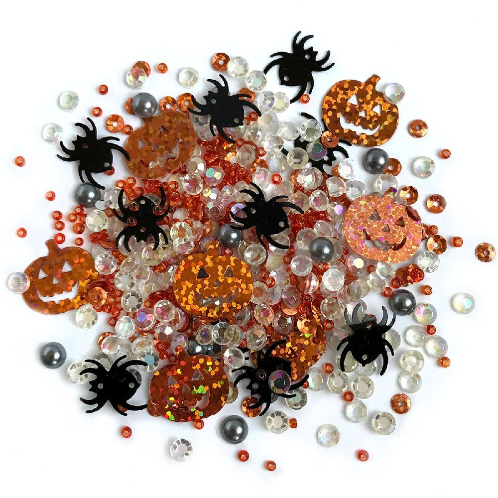 Buttons Galore & More Sparkletz - Creepy