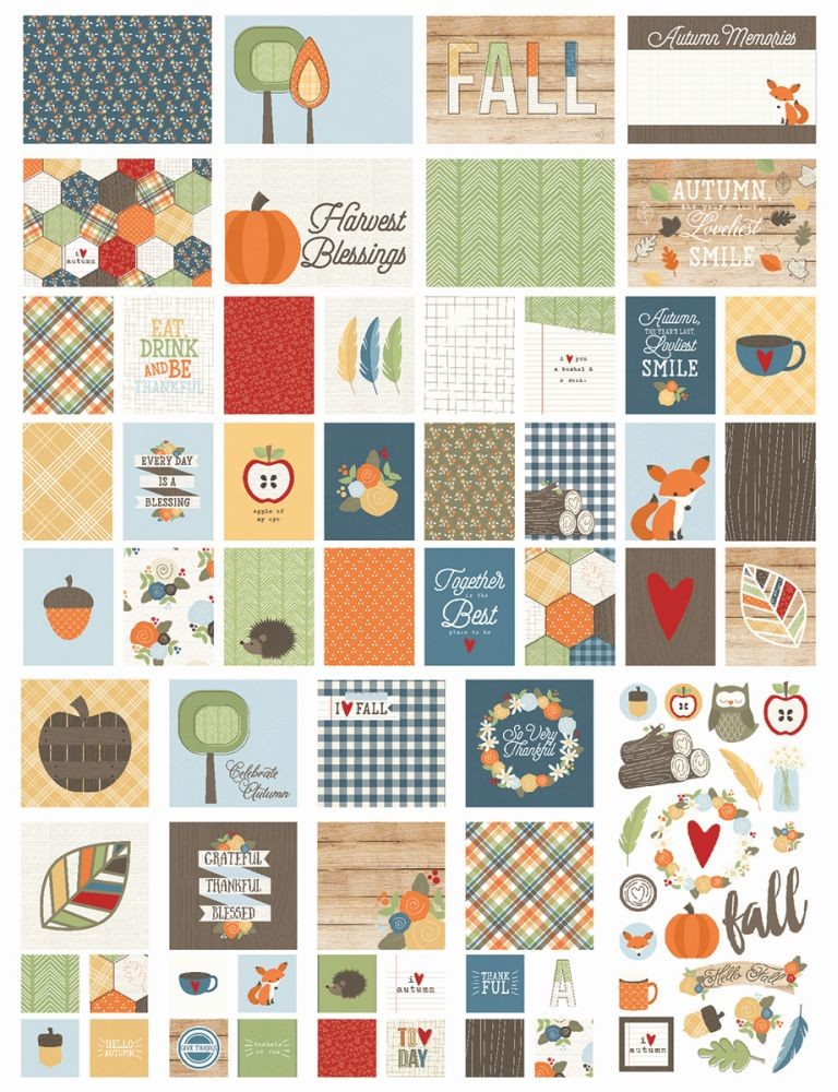 Simple Stories Hello Fall SN@P! Pack