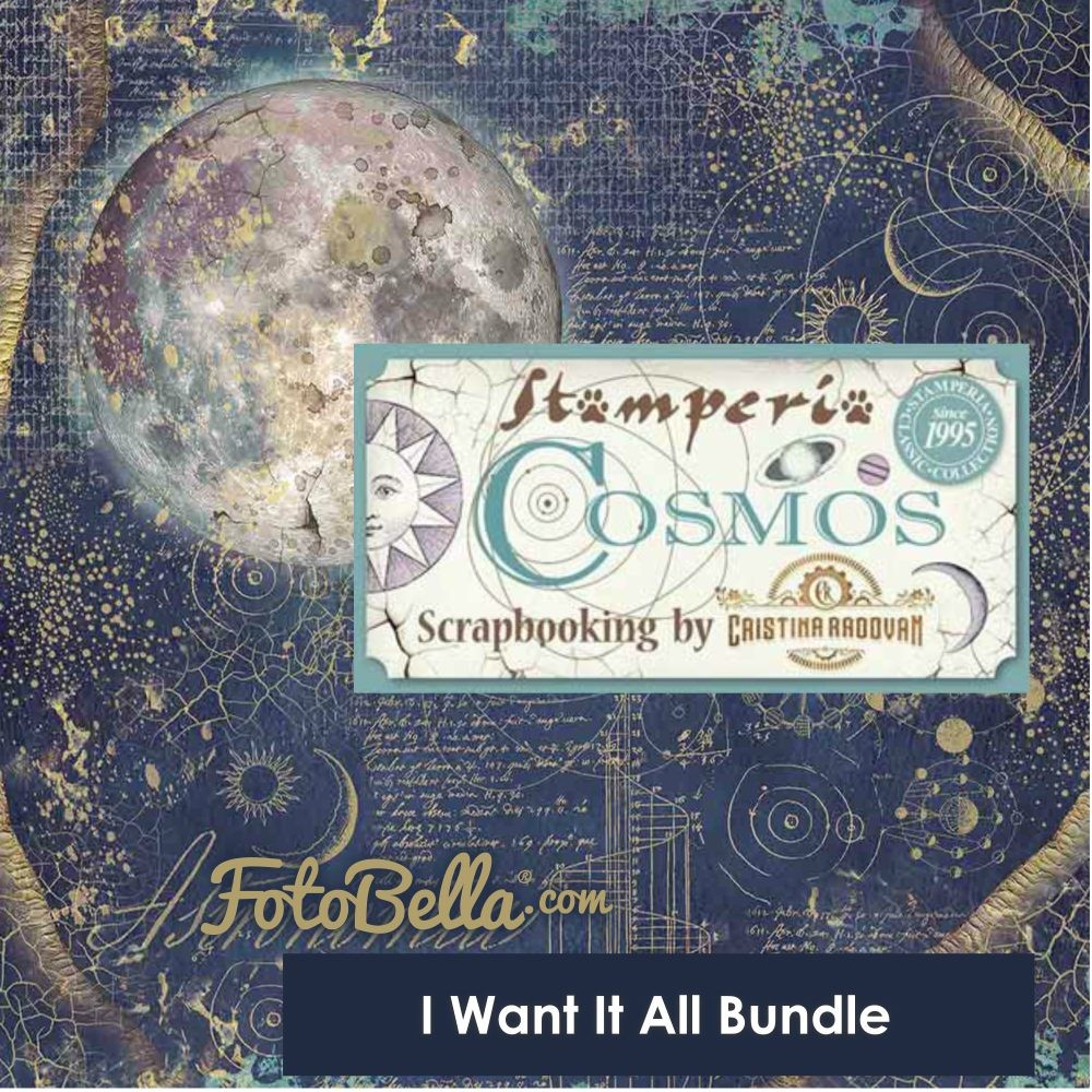 Stamperia Cosmos I Want It All Bundle