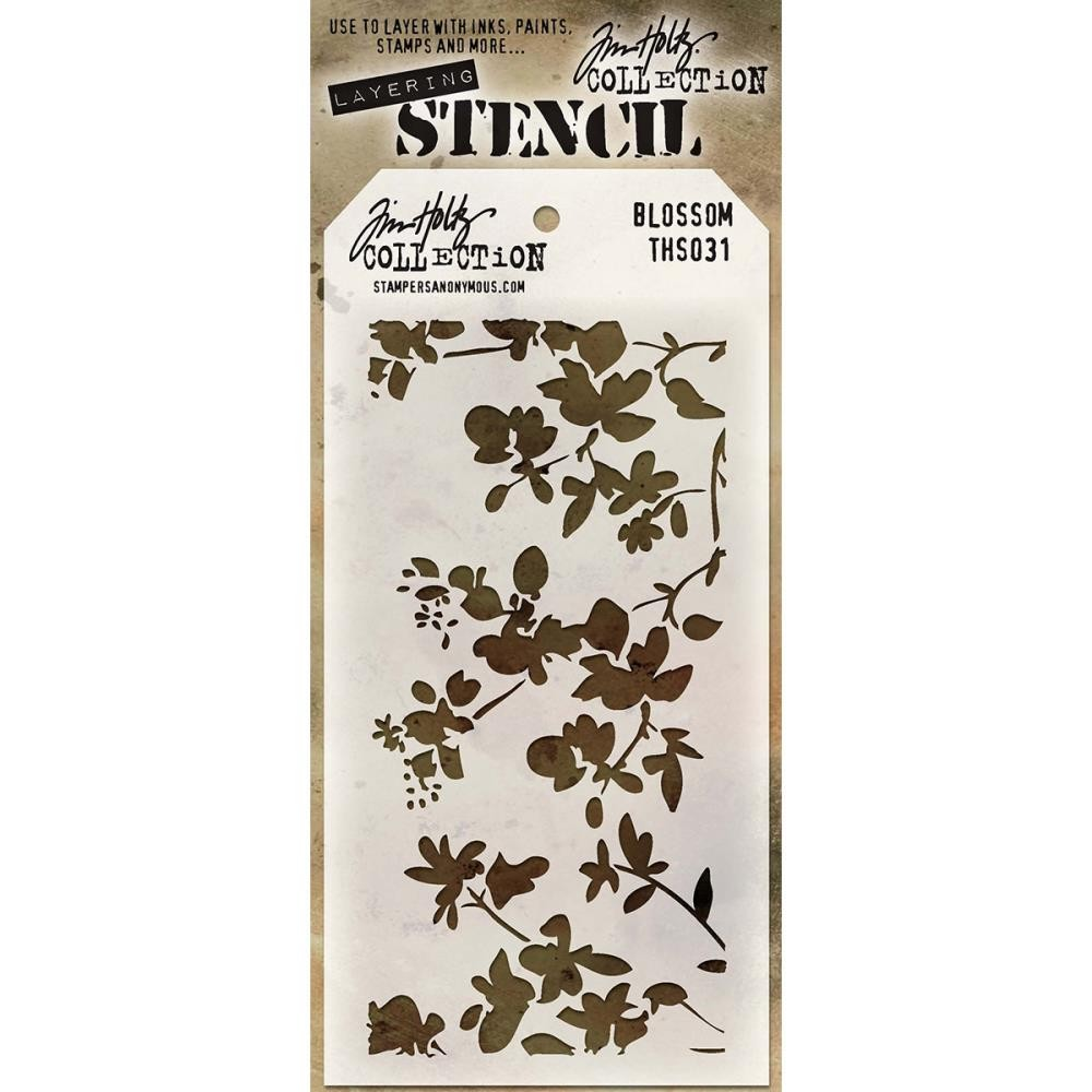 Stamper Anonymous Blossom Stencil - Layering Stencil