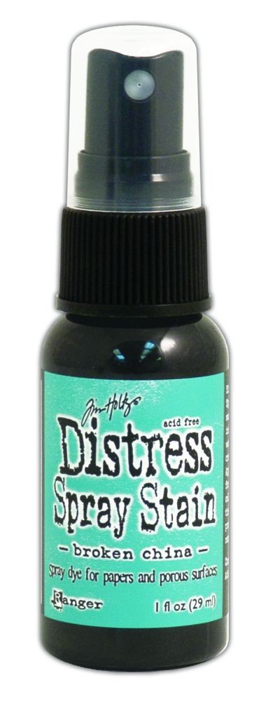 Tim Holtz Distress Spray Stains 1oz. - Broken China