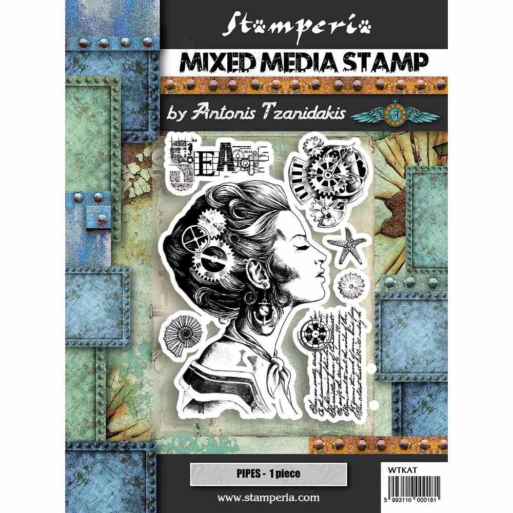 Stamperia Stamp cm. 15x20 - Lady