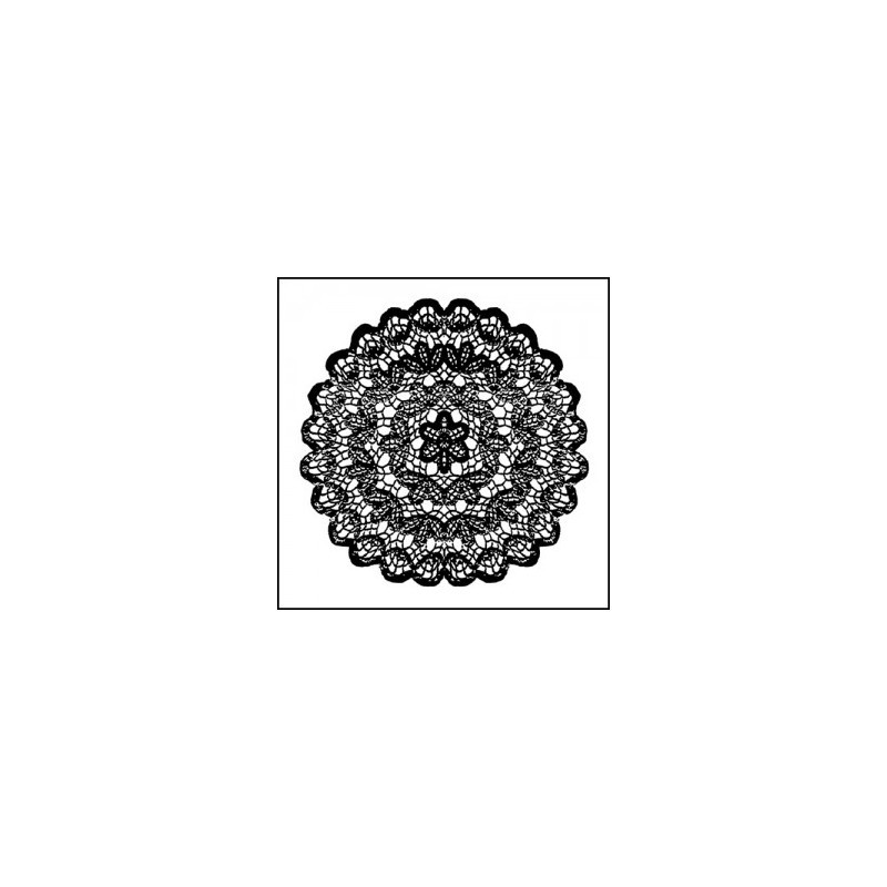 Stamperia High Definition Stamp 10cmx10cm - Doily