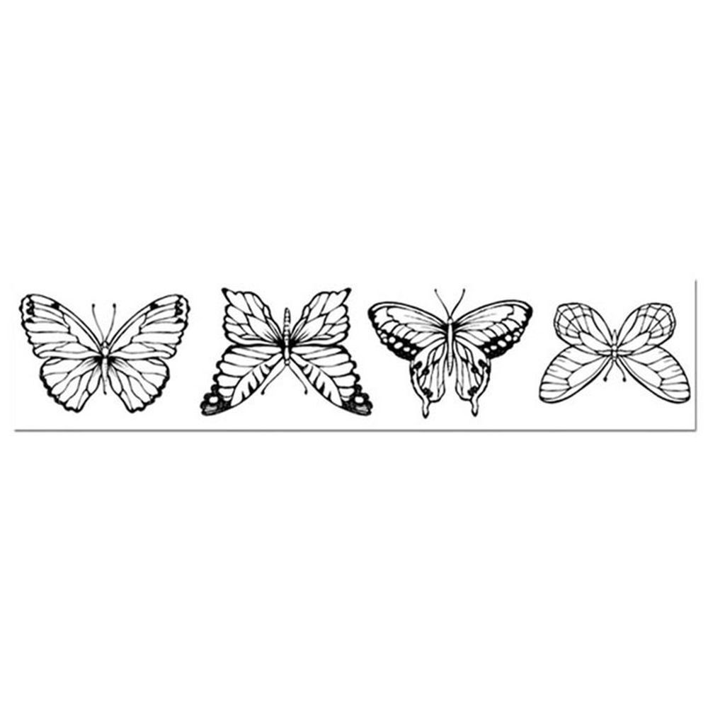 Stamperia High Definition Stamp cm. 4x18 Butterflies