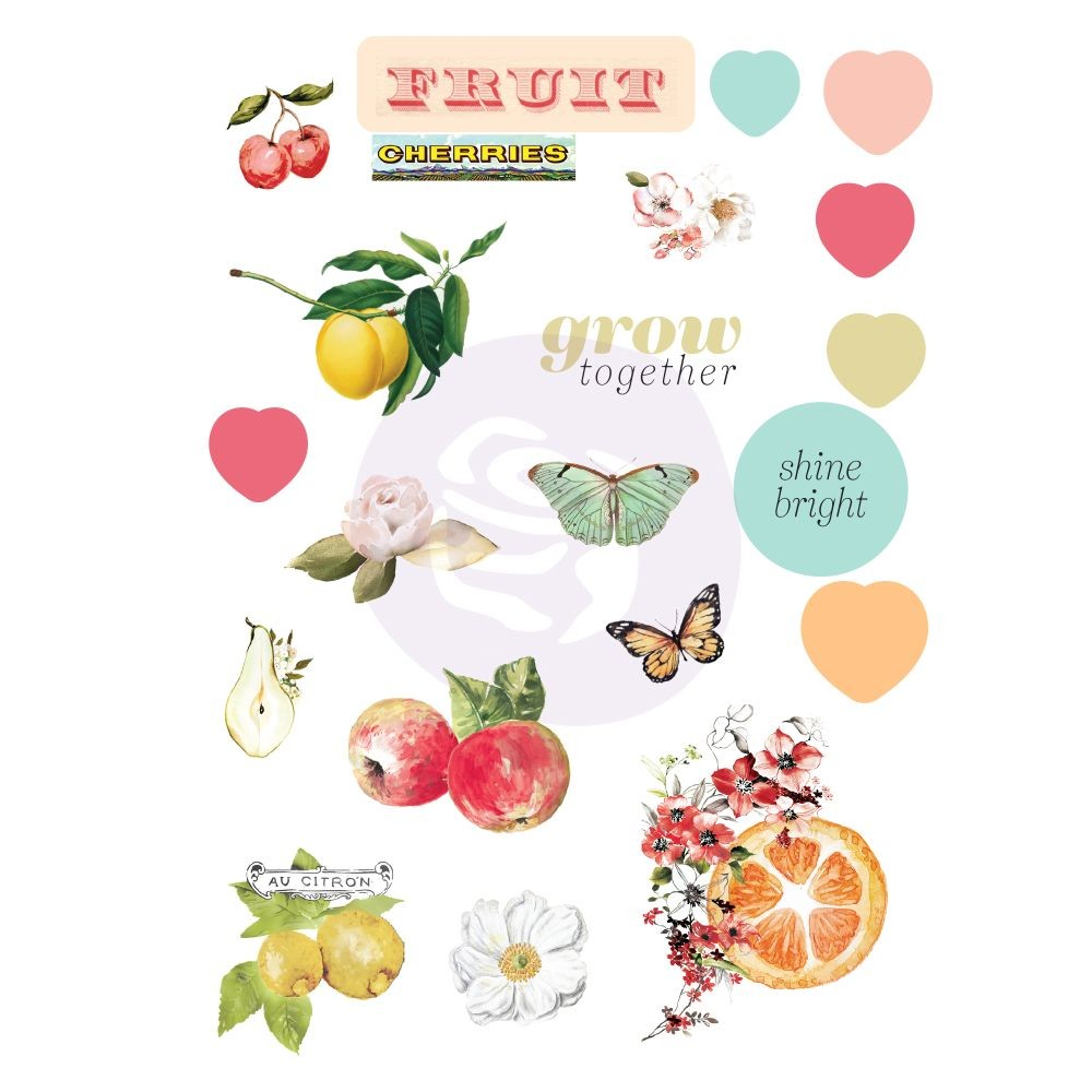 Prima Marketing Fruit Paradise Puffy Stickers
