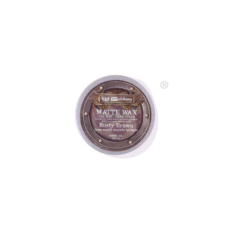 Prima Marketing Finnabair Wax Paste - Rusty Brown