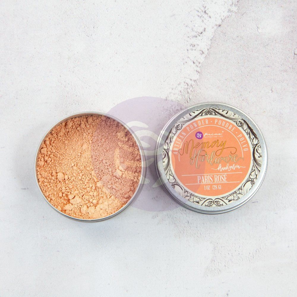 Prima Marketing Memory Hardware Artisan Powder - Paris Rose