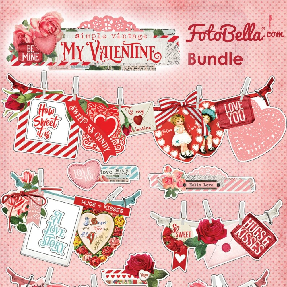 Simple Stories Simple Vintage My Valentine Bundle
