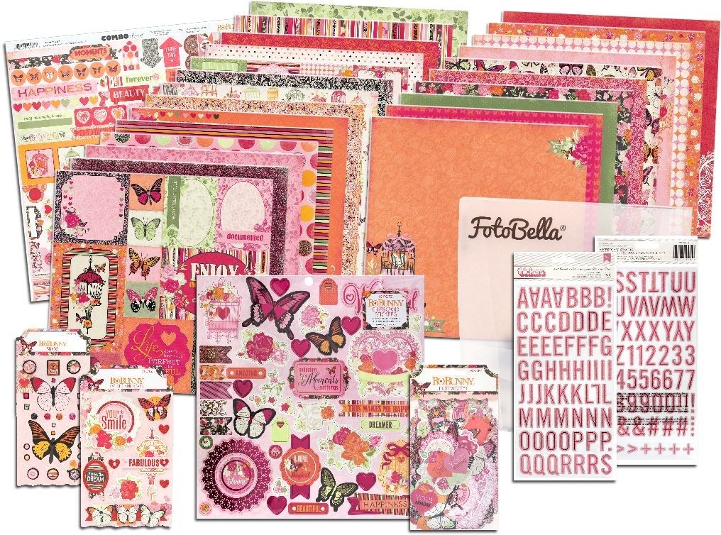 Bo Bunny Sweet Clementine I Want It All! 12x12 Collection Bundle