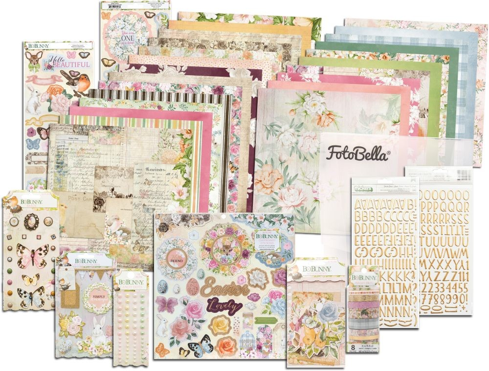 Bo Bunny Garden Grove I Want It All! 12x12 Collection Bundle