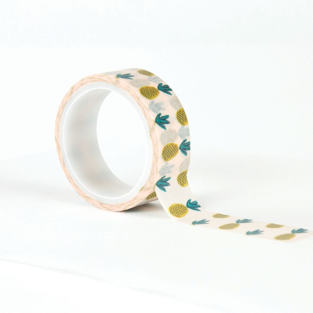 Carta Bella Decorative Tape -Pineapples