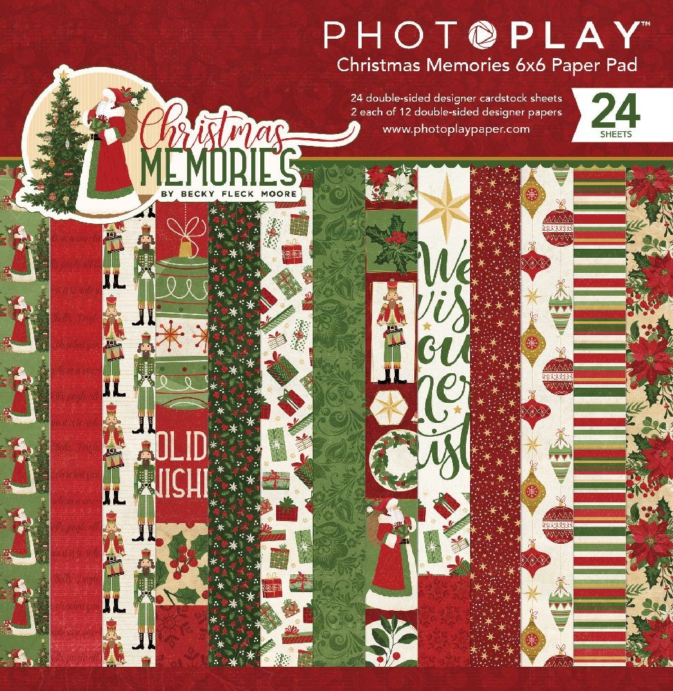 PhotoPlay Christmas Memories 6X6 Pad