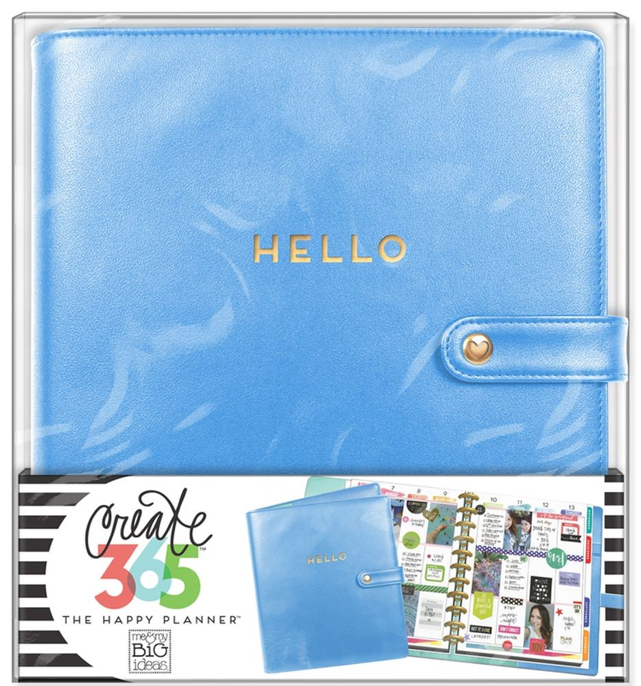 Me & My Big Ideas Create 365 The Happy Planner Deluxe Cover - Snorkel Blue (Big)