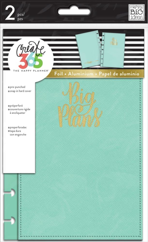 Me & My Big Ideas Create 365 The Happy Planner Snap in Hard Cover Big Day (Mini)