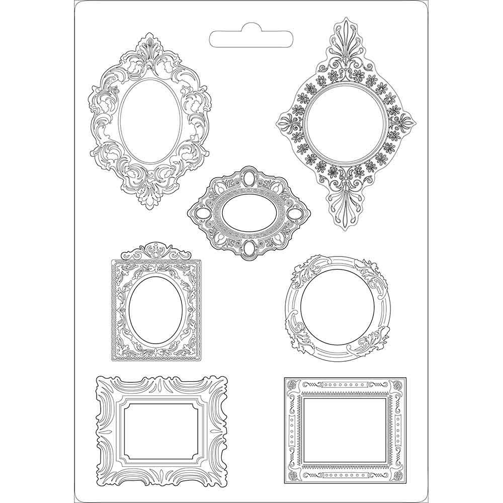 Stamperia Soft Mould A4 size Frames