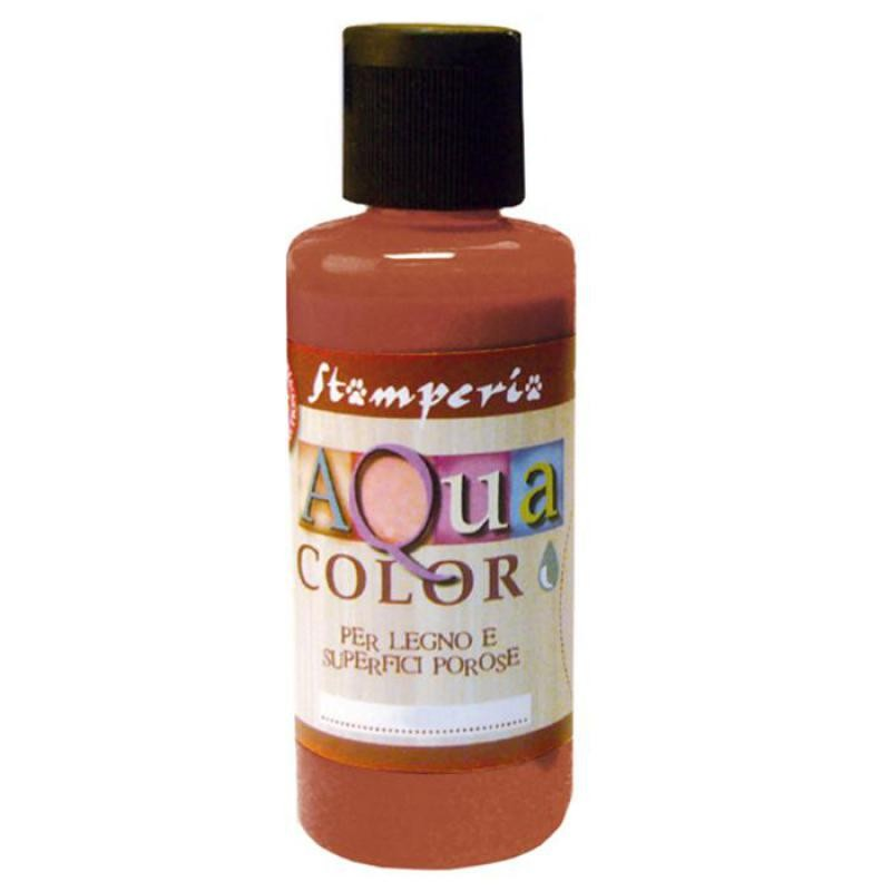 Stamperia 668 Aquacolor 60 ml - Chestnut (indoor and outdoor)